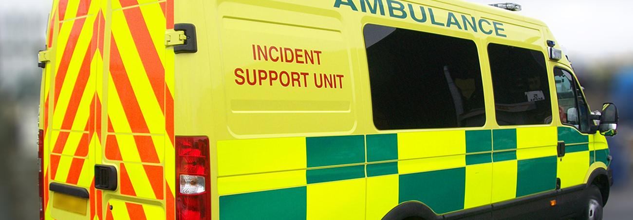 Ambulance Command & control vehicle